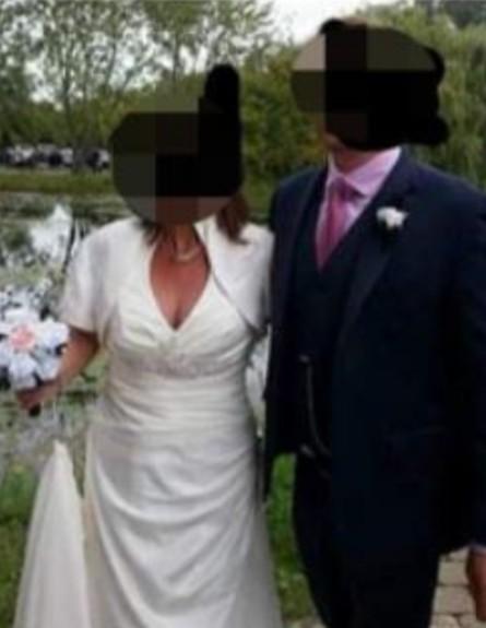 אם החתן בלבן (צילום: Facebook)