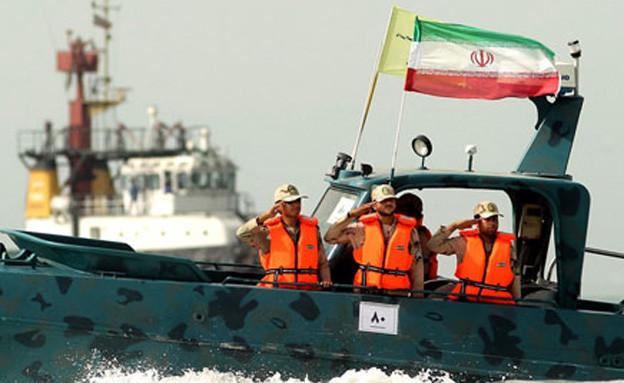 ספינה איראנית (צילום: סוכנות הידיעות האיראנית)
