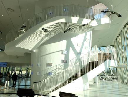 מרכז מבקרים חדש