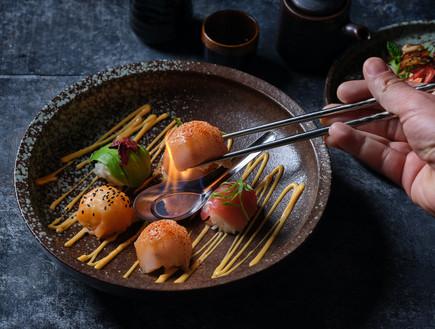פאפאסן מסעדה סושי  (צילום: אנטולי מיכאלו, יחסי ציבור)