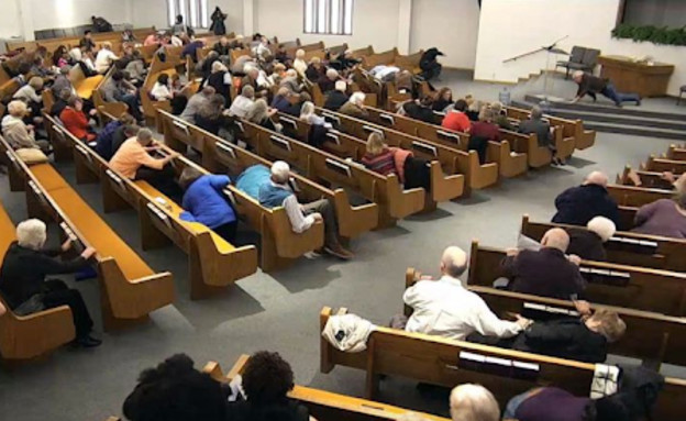 ירי בכנסייה בטקסס