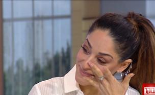 """דנה לפידות חושפת את המשבר המשפחתי (צילום: מתוך """"חדשות הבוקר"""" , קשת 12)"""