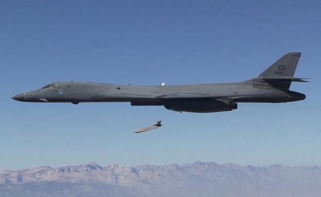 שיגור טיל ארוך טווח (צילום: DARPA@Twitter)