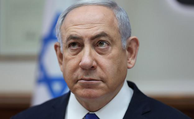 ראש הממשלה בנימין נתניהו בישיבת ממשלה (צילום: רויטרס)
