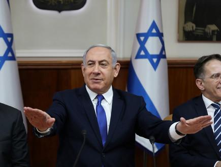 ראש הממשלה בנימין נתניהו בישיבת ממשלה