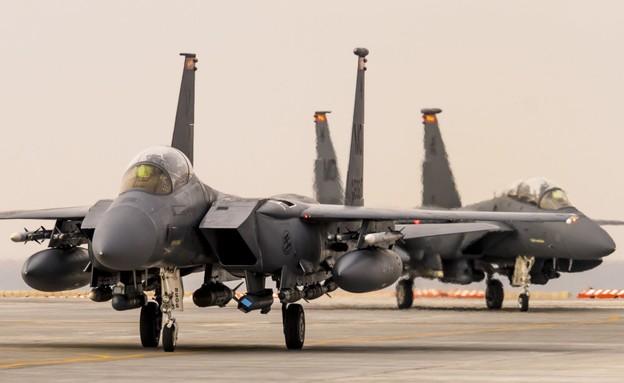 תקיפת אמריקאית נגד איראן בעיראק (צילום: OIRSpox@Twitter)