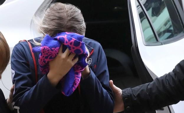 התיירת הבריטית שהתלוננה נגד הישראלים בקפריסין (צילום: Sky News)