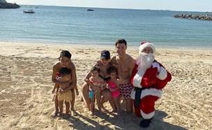 רונאלדו בחג המולד (צילום: instagram/cristiano)