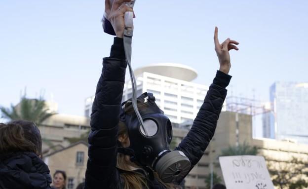 מחאות נגד הנישוב מאסדת הגז לוויתן (יח''צ: שומרי הבית)