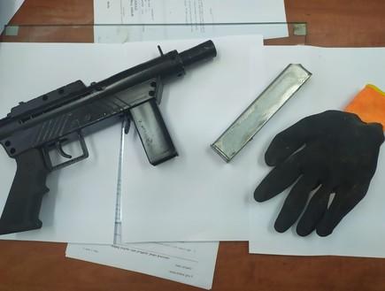 כלי נשק שנתפס בשנה האחרונה במגזר הערבי