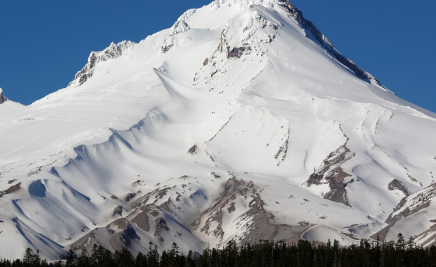 הר מושלג באורגון ארצות הברית (צילום: רויטרס, שי פרנקו, רויטרס)
