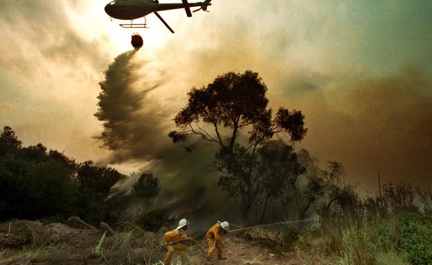 שרפות הענק באוסטרליה (צילום: רויטרס)