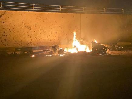 אזור נמל התעופה בבגדד, לאחר פגיעת הרקטות