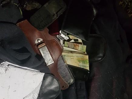 הציוד שנמצא ברשותו של סולימאני אחרי החיסול