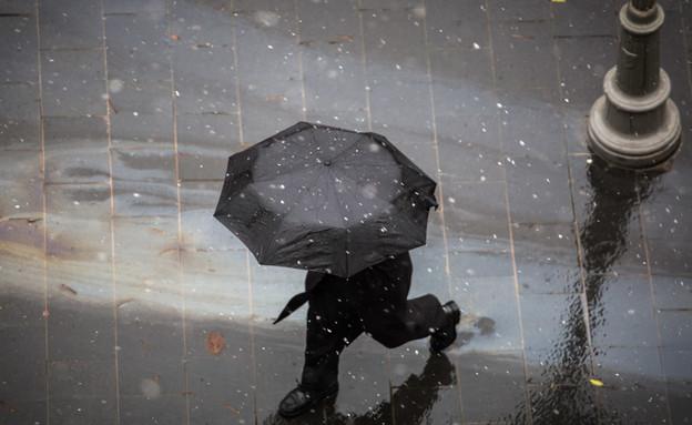חורף גשם  (צילום: הדס פרוש, פלאש 90)