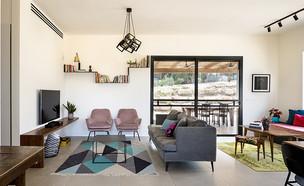בית בעוטף עזה, עיצוב יעלה צורף (צילום: עידו אדן)