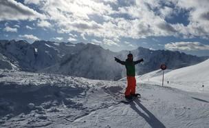 סקי (צילום: ניר ליברך)