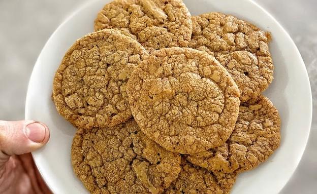 עוגיות ממרח לוטוס  (צילום: רון יוחננוב, אוכל טוב)