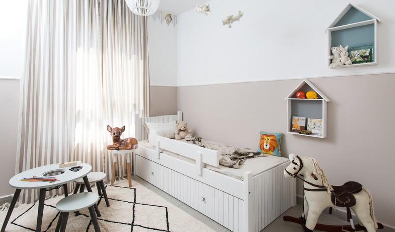 חדר ילדים, עיצוב אורנה מזור (צילום: שירן כרמל)
