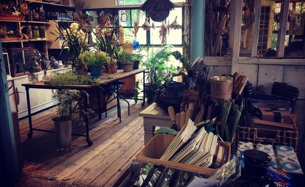 אורוות האמנים- חנות (צילום: מירב טלמור-קשי)