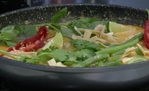 קארי דגים (וידאו AVI: מבשלים עם קשת - רותי רוסו)