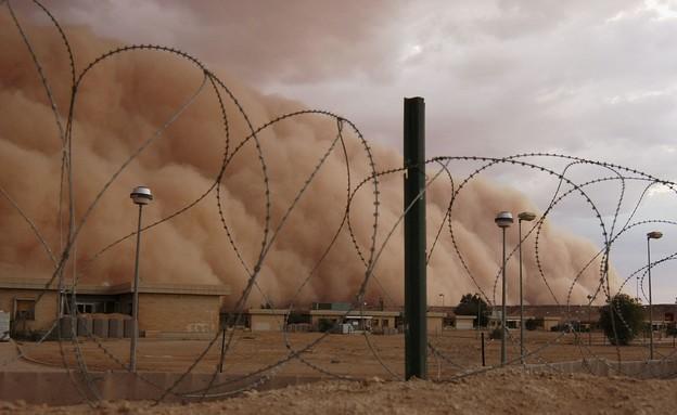 """בסיס צבא ארה""""ב במזה""""ת (צילום: Shannon Arledge/USMC via Getty Images)"""