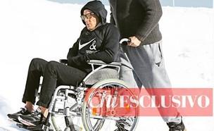 לאפו בכסא גלגלים (צילום: instagram/chimagazineit   )