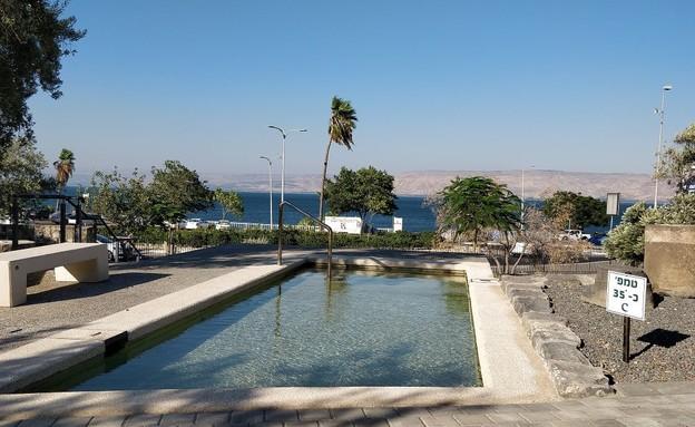 גן לאומי חמת טבריה (צילום: זיו לוי)
