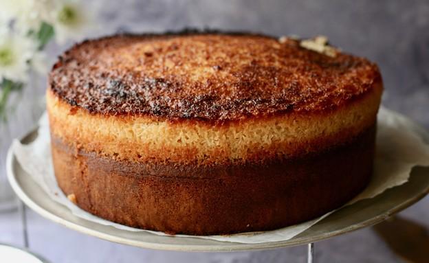 עוגת וניל דנית (צילום: קרן אגם, אוכל טוב)