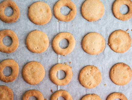 עוגיות טבעוניות אחרי אפייה