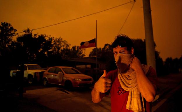 אסון השרפות באוסטרליה (צילום: reuters)