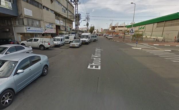 צילום מסך של רחוב הקינמון בבת ים