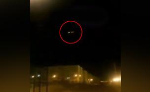 רגע פגיעת הטיל במטוס האוקראיני