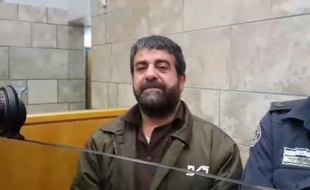 סודקי אל-מקת, אסיר ביטחוני (צילום: החדשות 12)