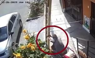 הקשיש בפרו (צילום: youtube/Verdad Noticias)