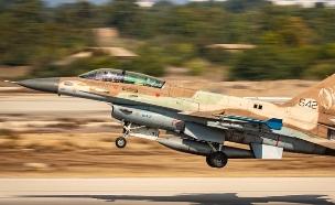 """בסיס חיל-האוויר ״חצור״ חזר היום (ב׳), לפעילות מבצע (צילום: דובר צה""""ל)"""