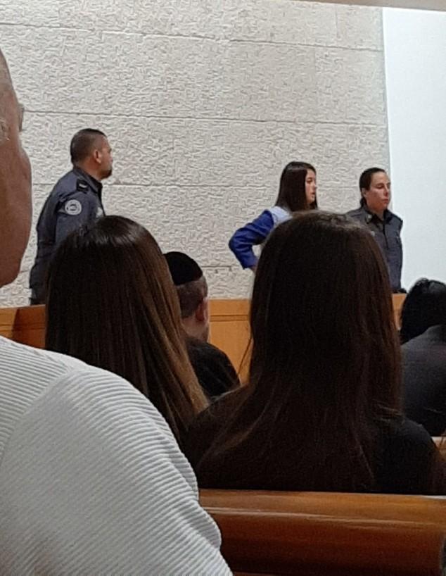 פרסיליה קשתי בבית המשפט, ינואר 2020