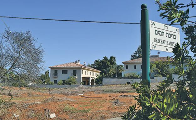 מגרש לבנייה  (צילום: בר אל, גלובס)