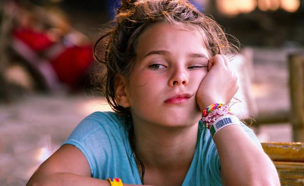 ילדה משועממת (צילום: Kudryashova Vera, shutterstock)