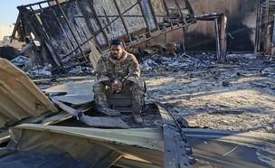 הבסיס האמריקני שהופצץ בעירק (צילום: CNN)