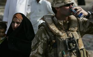 חייל בריטי במזרח התיכון (צילום: רויטרס)