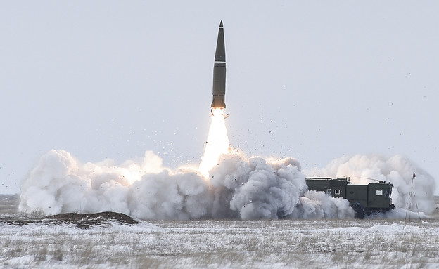 שיגור קודם (צילום: Алексей Иванов, משרד ההגנה הרוסי)