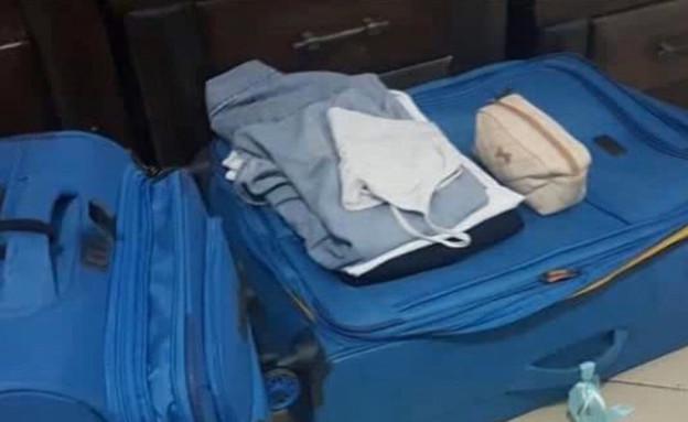 עוקץ המזוודות ממדריד  (צילום: מתוך חי בלילה, קשת 12)