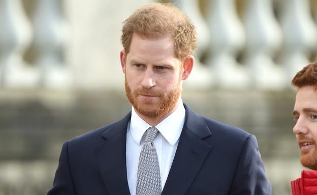 הנסיך הארי בהופעה פומבית ראשונה, ינואר 2020 (צילום: splashnews)