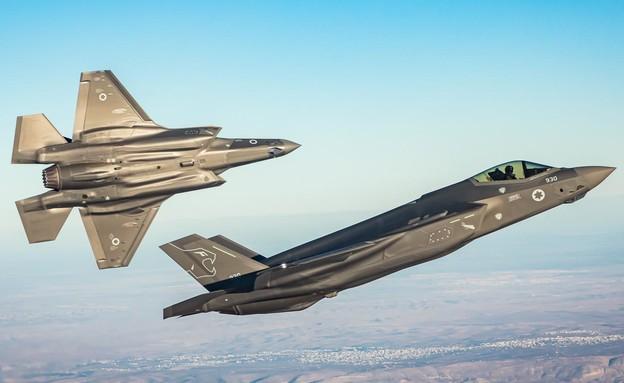 "F-35 (צילום: דובר צה""ל)"