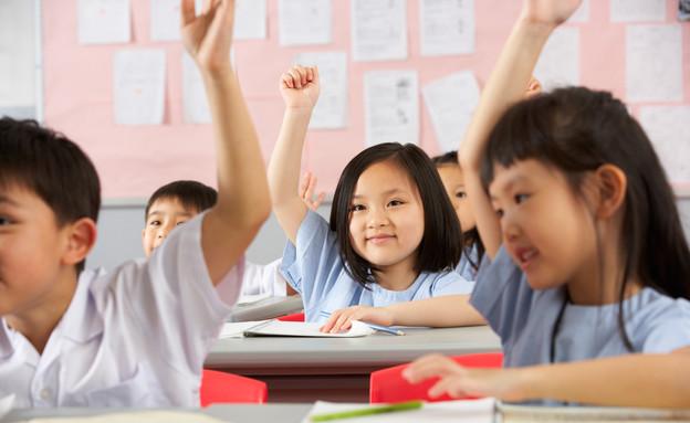קבוצת תלמידי בית ספר בסין (אילוסטרציה: Monkey Business Images, shutterstock)