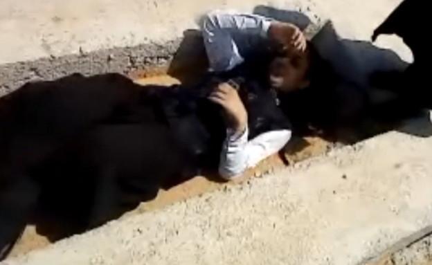 עדויות של נשים שברחו מהכת הירושלמית (צילום: החדשות 12)