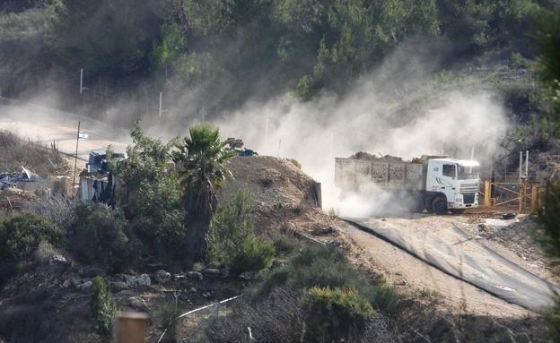 הנחת תשתית טכנולוגית לגילוי חפירות בלבנון 