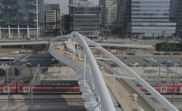 גשר יהודית בתל אביב (צילום: קבוצת אורון אחזקות והשקעות)