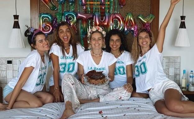 שביט ויזל חוגגת יום הולדת 30 (צילום: מתוך עמוד האינסטגרם של שביט ויזל)